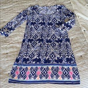 Lilly Pulitzer 3/4 Sleeve Dress Size XS